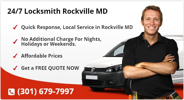 24 Hour Locksmith Rockville MD